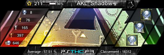 Carte des trophées de AKL_Shadow